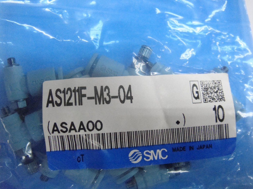 BRAND NEW JAPAN SMC GENUINE SPEED CONTROLLER AS1211F-M3-04 brand new japan smc genuine speed controller as1001fg 04