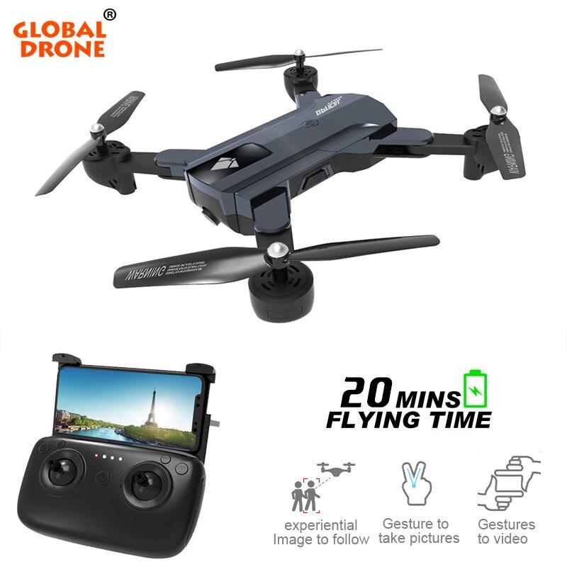 Глобальный DRONE RC Дроны с Камера HD высота режим удержания Дрон Com HD Камера Игрушки для мальчиков fpv-квадрокоптер VS E58 VISUO XS809HW