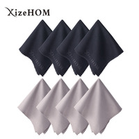 XizeHOM 40 40cm 8pcs Large Microfiber Cleaning Cloth For Screens Tv Cleaning 2018 New