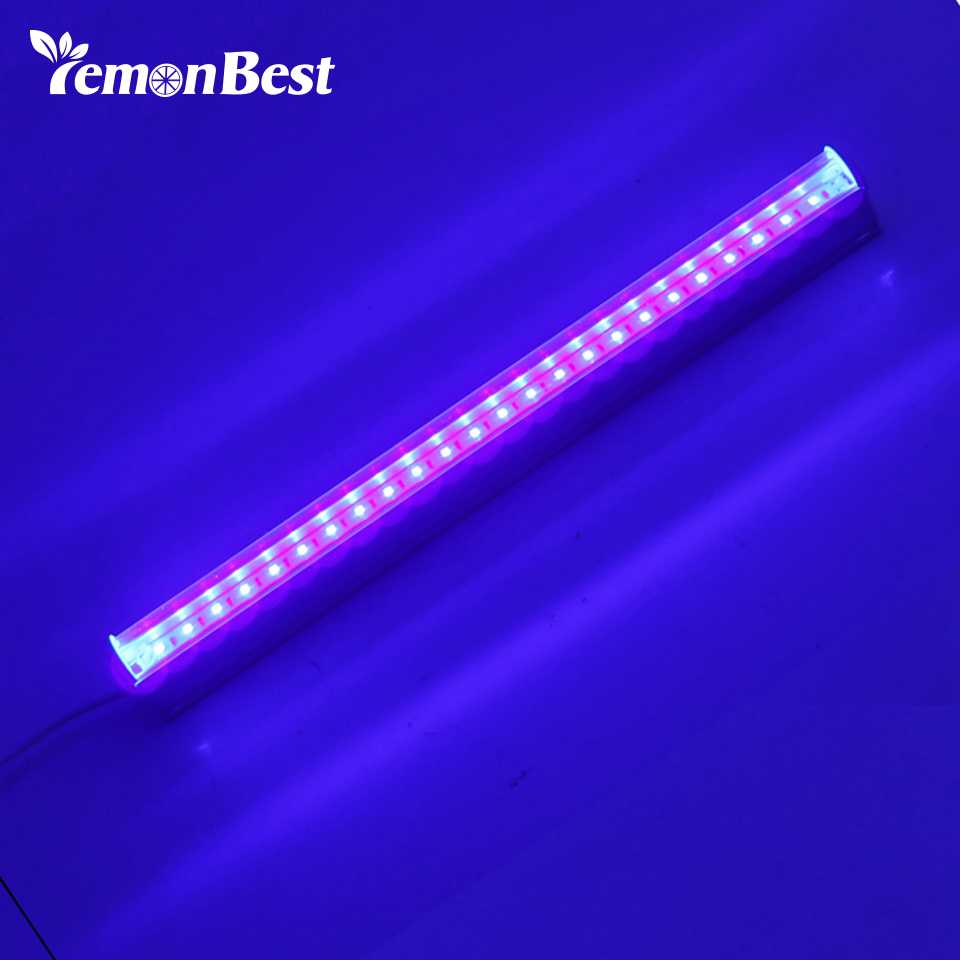 UV 24 LED Black Light Fixtures 6W Portable Black light ...