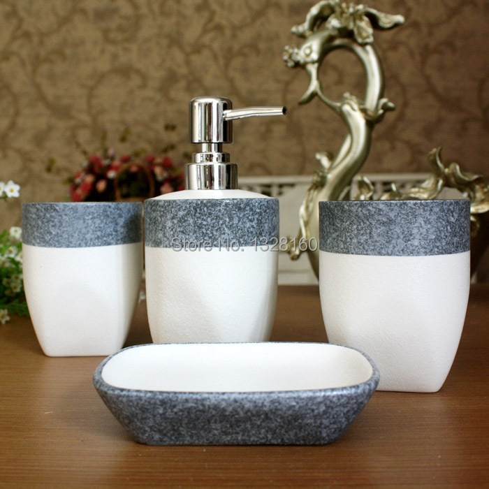 2014 fashion special mediterranean style small pure and for Small 4 piece bathroom