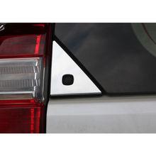цена на Accessories Chrome ABS Car Rear Window Trim Cover Styling Sticker 7Pcs Fit For Toyota Prado J150 2014 2015 2016 Car decal