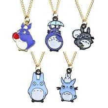 Fashion Cartoon Chinchilla Family Necklace & Pendant Enamel Animal Metal Retro Cat Charm Child Jewelry