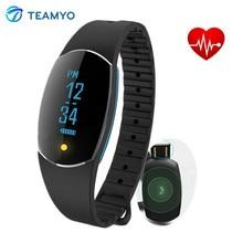 Teamyo Smart Band Blood Pressure Watch Heart Rate Monitor Sport fitness tracker smart bracelet Facebook Twitter CAll reminder