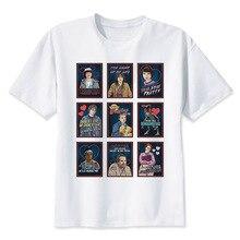 stranger things 2 t shirt male clothing T shirts men 2017 New summer T shirt Men