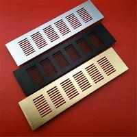 4Pcs Lot Aluminum Air Vent Ventilator Grille For Closet Shoe Cabinet