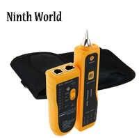 Newest Rj11 Rj45 Cat5 Cat6 Telephone Wire Tracker Tracer Toner Ethernet Lan Network Cable Tester Detector Line Finder