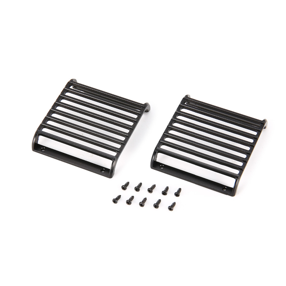 2pcs Metal Front Lamp Light Guards Headlight Cover Guard Grille Protector for 1/10 RC Crawler Climbing Car ModelTraxxas TRX-42pcs Metal Front Lamp Light Guards Headlight Cover Guard Grille Protector for 1/10 RC Crawler Climbing Car ModelTraxxas TRX-4