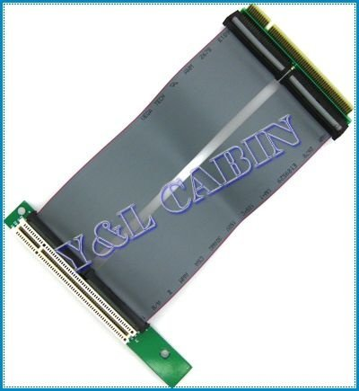 High Density PCI 32bit Riser Card Extender Flexible Extension Cable Ribbon Adapter Converter for 1U 2U, Brand New, Free Shipping