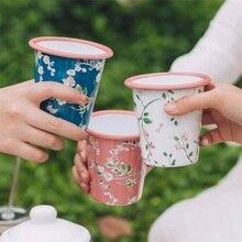 300 мл 9 см четыре сезона эмалированная чашка креативная индивидуальная трендовая чашка домашняя кружка для кофе в офисе чашка