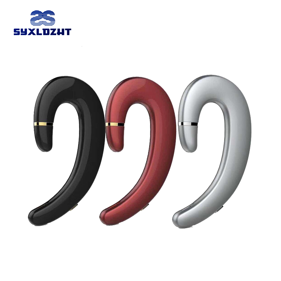 SYXLDZHT Ear-hook Headset Wireless Bluetooth Earphone Wireless Headphones HD call No earplugs Bluetooth Phone Headset with Mic stereo mini bluetooth wireless ear hook headset headphones earphone v4 0 handfree universal with mic for mobile phone