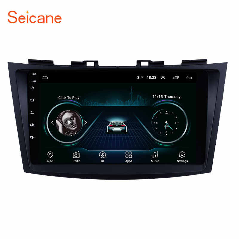 Seicane 9 inch Android 8.1 GPS Navigation Car Radio Player for SUZUKI SWIFT 2011 2012 2013 support 1080P Video OBD2 DVR WIFI