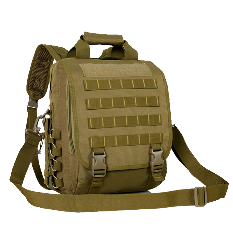 Outdoor Sport Tactical Military Backpack For Men Camping Hiking Travel Backpack 14 Inch Laptop Bag Shoulder Messenger Bag outdoor sport bag military tactical backpack tactical messenger shoulder bag oxford camping travel hiking trekking runsacks bag