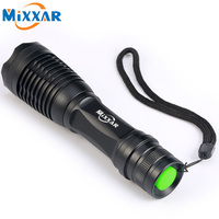RU Led Flashlight 4000 Lumens XML T6 Led Torch Zoomable LED Flashlight Torch Light Lampe Torche