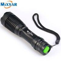 RU Led Flashlight 4000 Lumens XML T6 Led Torch Zoomable LED Flashlight Torch Light Lampe Torche