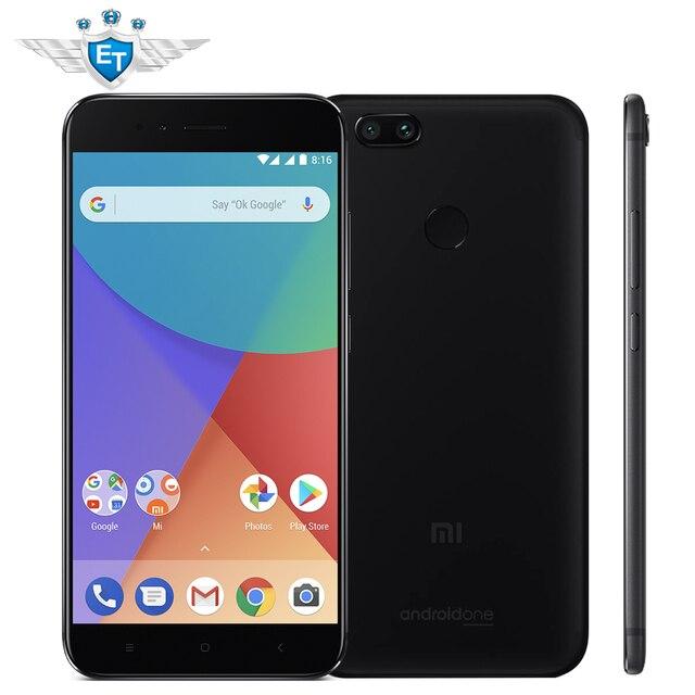 Глобальная версия Сяо Mi Ми A1 4 ГБ 32 ГБ 5.5 ''1080 P Snapdragon 625 восьмиядерный смартфон Dual 12MP Android один ce отпечатков пальцев ID ce