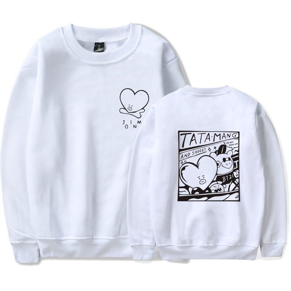 2018 Bts Kpop Liebe Selbst Bts Capless Frauen/männer Bangtan Boys übergroßen Hoodies Sweatshirts Outwear Hip-hop Moletom Trainingsanzug Waren Jeder Beschreibung Sind VerfüGbar