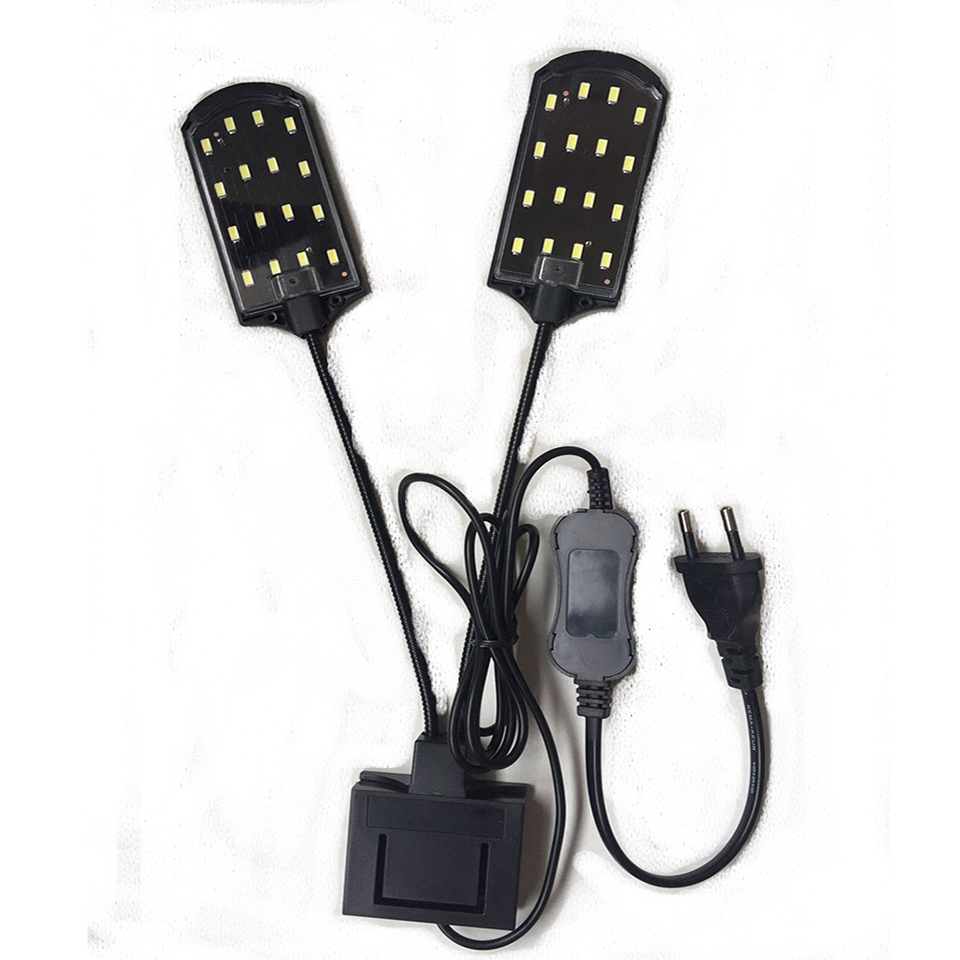 Super Bright LED Aquarium Lights LED Plants Grow Light 5W/10W/15W Aquatic Freshwater Lamps Waterproof Clip on Lamp For Fish Tank 27
