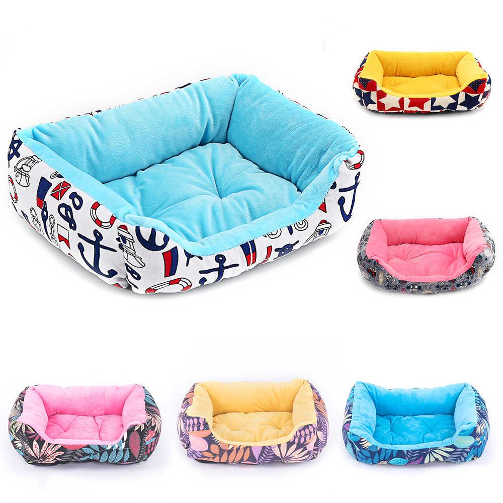 Кровать для собаки скамейка для собачьи продукты Домашние животные Щенок щенка дом для кошки собаки кровати коврик Диван Лежак для маленькой средней большой собаки кошка домашний питомец питомник