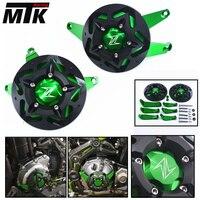 MTKRACING For Kawasaki Z900 2017 Z 900 Parts Accessories Moto Fram Slider Engine Guard Case Saver