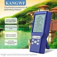 Portable co2 Meters Carbon Dioxide Detector CO2 TVOC HCHO AQI Formaldehyde Monitor USB Charging Multi Gas Analyzer Gas Detector