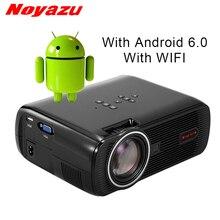Noyazu Android 6.0 проектор WI-FI Bluetooth Портативный HD светодиодный ТВ проектор 3D дома Театр ЖК-проекторы видеопроектор проектор