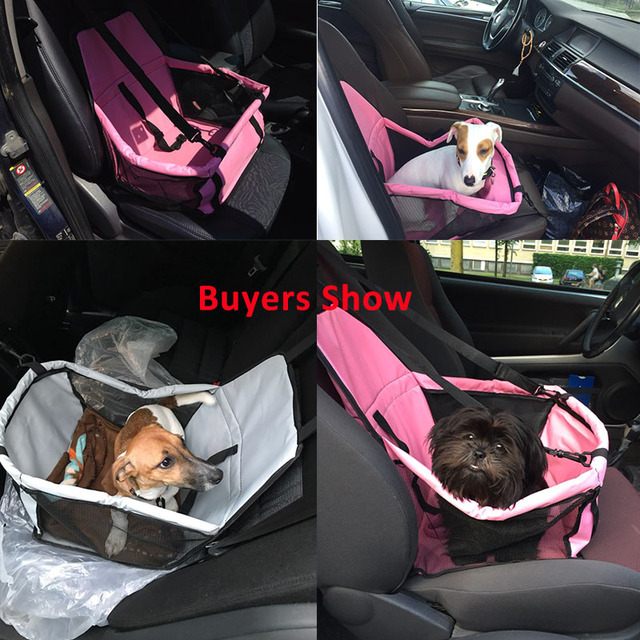 Pet Dog Carrier Pad Safe Carry House Cat Puppy Bag Dog Car Seat Waterproof Dog Seat Bag Basket Pet Products 1