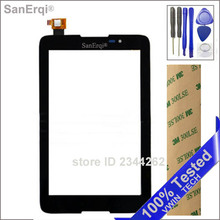 SanErqi Tested Touch screen  For Lenovo IdeaTab A3500 A3500-F A3500-H A3500-H A7-50 Sensor Glass Digitizer