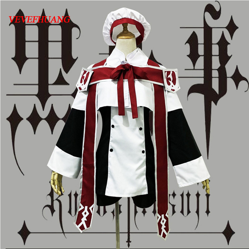 VEVEFHUANG Anime Black Butler Ciel Phantomhive Cosplay Costume Choirboy Cartoon Clothing Black Butler Ciel Phantomhive Church Ch