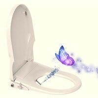 Крышка для унитаза биде шайба полуавтоматическая промывка крышка для унитаза высокое качество самоочищающаяся ванная комната сиденье для