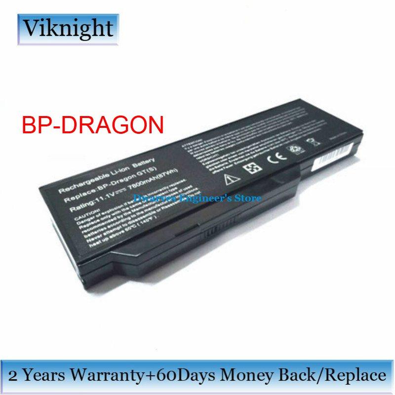 11.1 V BP-DRAGON Batterie Pour Medion Akoya P8610 97310 MD97451 MD96464 PC batterie d'ordinateur portable BP-DRAGON 7800 mAh