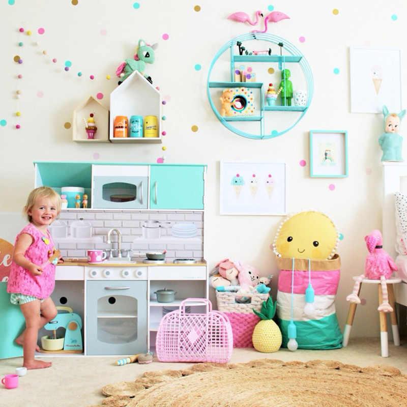 النقاط ملصقات جدار للأطفال غرفة الطفل ديكور المنزل الأطفال صور مطبوعة للحوائط الاطفال الجدار ملصق الاطفال ديكور المنزل الجداريات خلفية