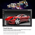 New 7 inch Auto Radio Car DVD Player In-dash Stereo Video Mic 2 din Car DVD/USB/SD/MP4 Player Bluetooth FM/AM Radio Audio