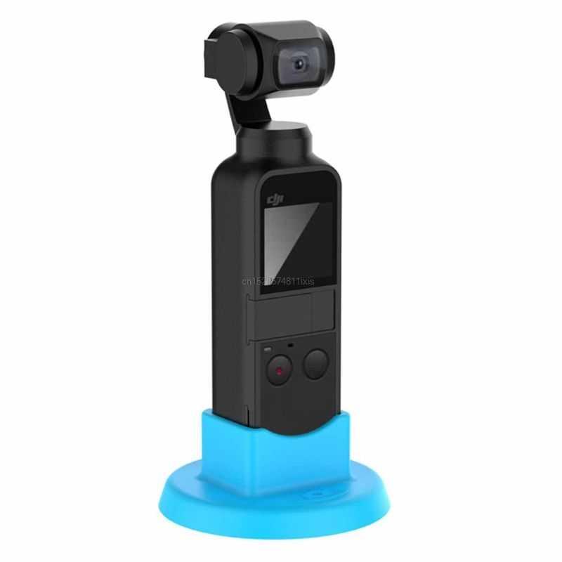 Stabilisateur de poche monture pour Support De Silicone De Support De Support De Bureau Base pour DJI OSMO POCHE Cardan Caméra