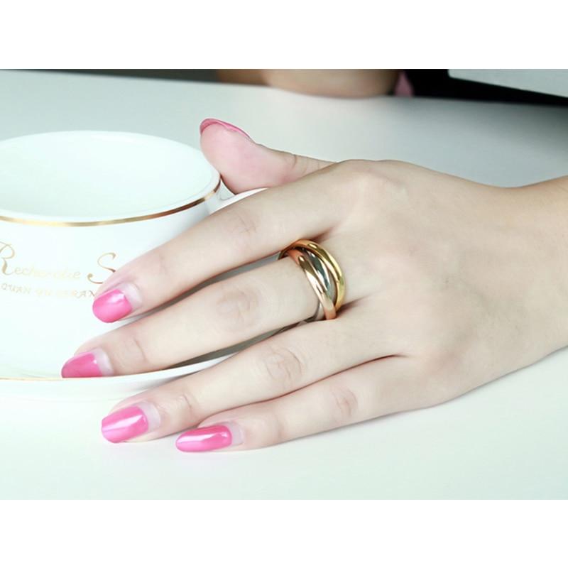 Women's Stainless Steel Ring Jewelry Rings Women Jewelry