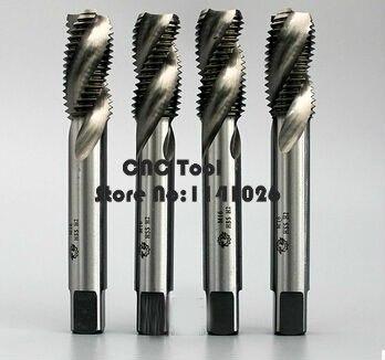 1 шт. M16/M16* 1/M16*1,5/M18/M18*1,5/M20/M20*1,5 высокоскоростная стальная машина краны спиральный паз машинный кран, спиральный резьбовой кран