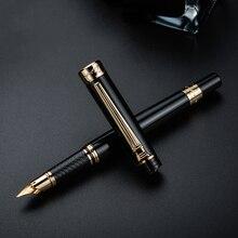 פיקאסו 917 Pimio רגש של רומא מזרקה עט דיו עטים שחור עם זהב/כסף קליפ אריזת מתנה אופציונלי עסקי משרד מתנת סט
