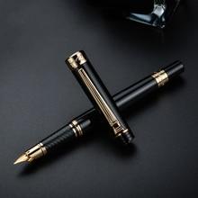 Ручка перьевая чернильная, золотистая/серебристая, 917