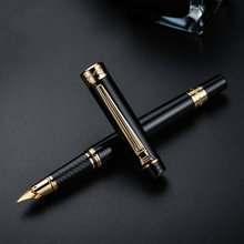 Picasso 917 Pimio Emotie van Rome Vulpen Inkt Pennen Zwart met Goud/Zilver Clip Geschenkdoos Optioneel Business kantoor Gift Set