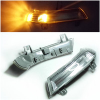 Car Styling Rearview Mirror Turn Signal Light Lights Led Lamps Bar Lighting For VW Volkswagen PASSAT