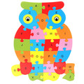 New Educational Toys Brain Game Kids 26 letters Animals Wooden Toys Wood chidren 3d Puzzle Wood Brinquedo Kids Jjigsaw Puzzles
