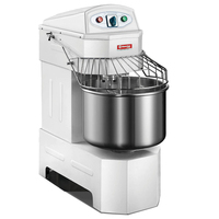 40L=18kg Flour Spiral Dough Mixer Electric Stainless Steel Dough Mixer Machine Axil And Bowl Can Run