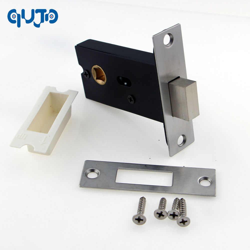Passage Mortise Lock Latch Indicator Lock Case Bathroom