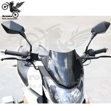 Фотография 2 colors available motorcycle mirror 10mm 8mm motorbike rearview mirror motocross ATV Off-road moto dirt pit bike side mirror