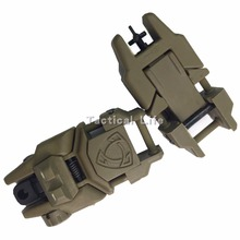 Hot Sale Tactical Flip Up Folding Front and Rear Back Up Sight For 20mm Weaver Rail