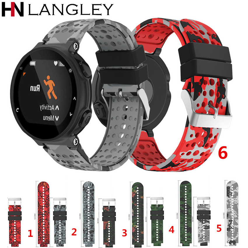 for Forerunner Watch Strap Replacement Silicagel Soft Band Strap for Garmin Forerunner 220/230/235/620/630/735xt Sport Watch new 2016metal stainless steel watch band strap for garmin forerunner 220 230 235 630 620 735 high quality 0428