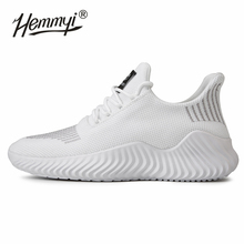Hemmyi 2019 Ultralight Flywire Sneakers Men Summer Breathable Sport Running Shoes for Black White Gray Big Size 39-47