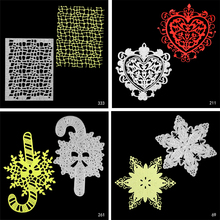 2019 New Holiday Blessing Shape Mold Cutting Metal Making DIY Scrapbook Album Decoration Embossing