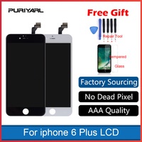 Black White SHENCHAO LCD Display Touch Screen Replacement LCD For IPhone 6 Plus 6P AAA Quality