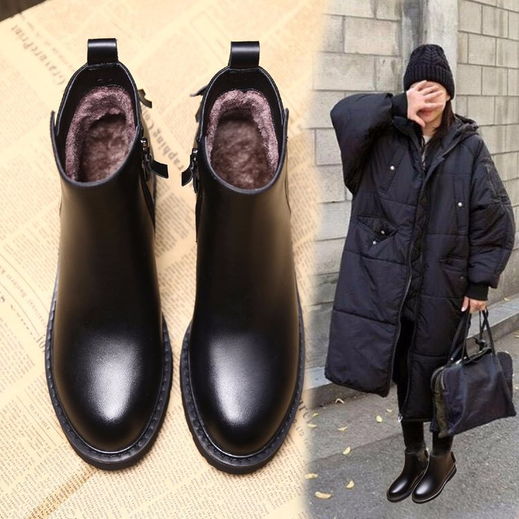 cd6987fca54 Detail Feedback Questions about New Fashion Women Ankle Boots Warm Winter  Vintage Fringe Shoes Woman Outdoor Rain Boot Ladies High Heels Footwear on  ...